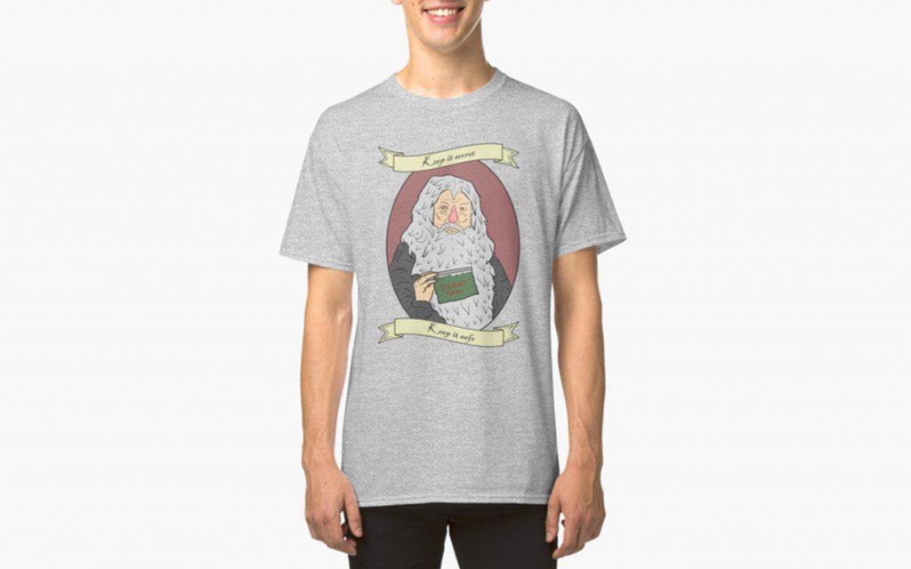 """Keep It Secret, Keep It Safe!"" Gandalf t-shirt from RedBubble.com"