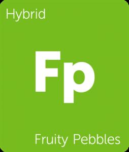 Leafly Fruity Pebbles hybrid cannabis strain