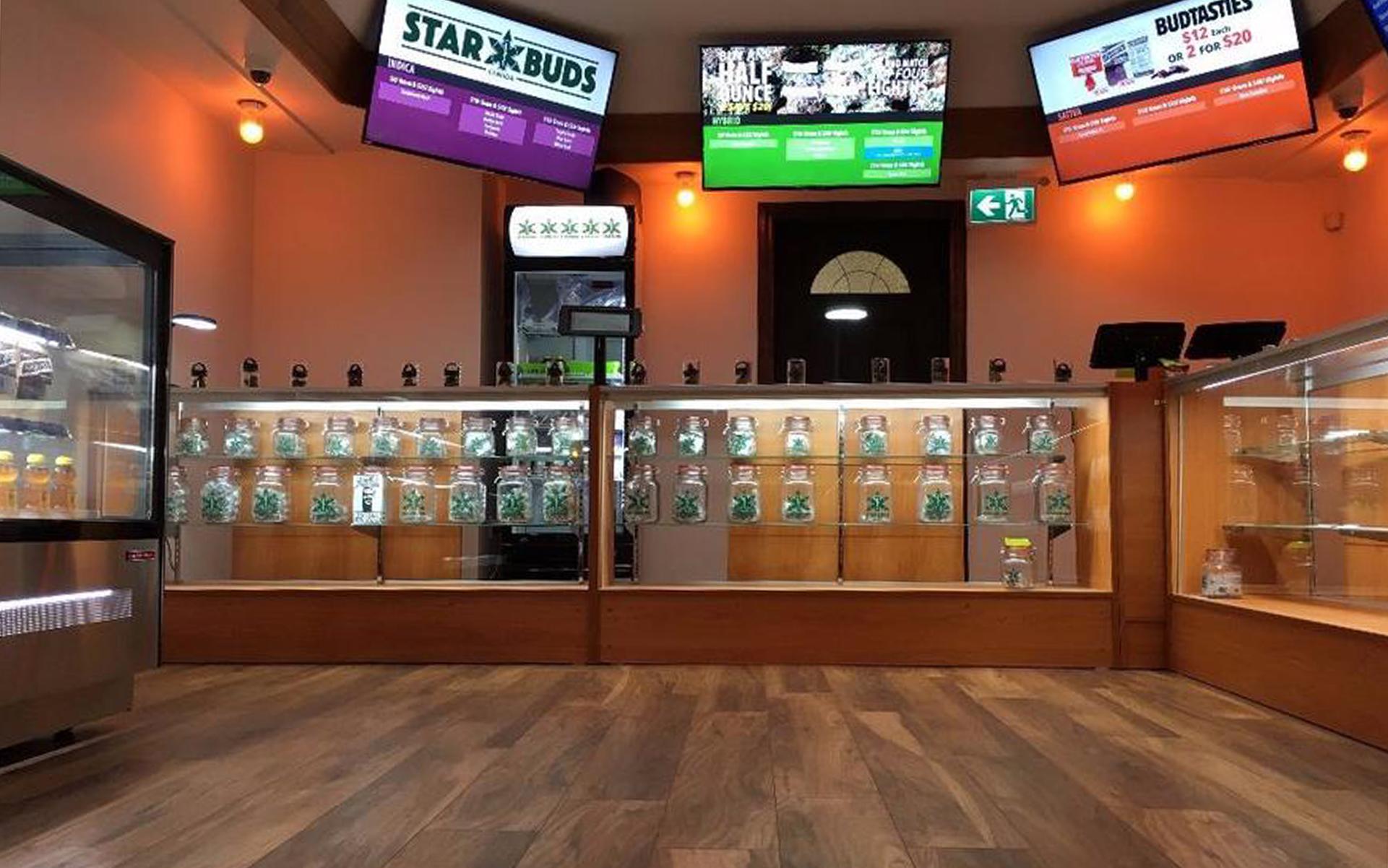 Starbuds Kelowna British Columbia Canada Medical Marijuana Dispensary Leafly List