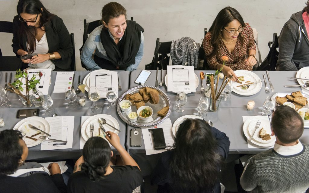 Leafly Cannabis-Infused Dinner Party: At the Table