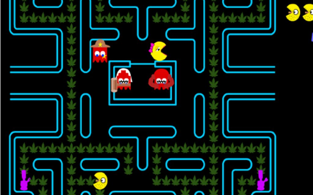 Stoned Pac-Man web game