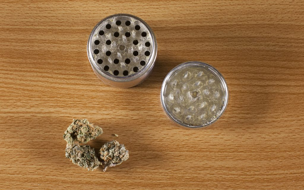 what is a marijuana grinder