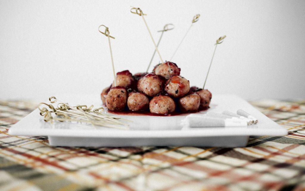 Cannabis-Infused Turkey Sage Meatballs