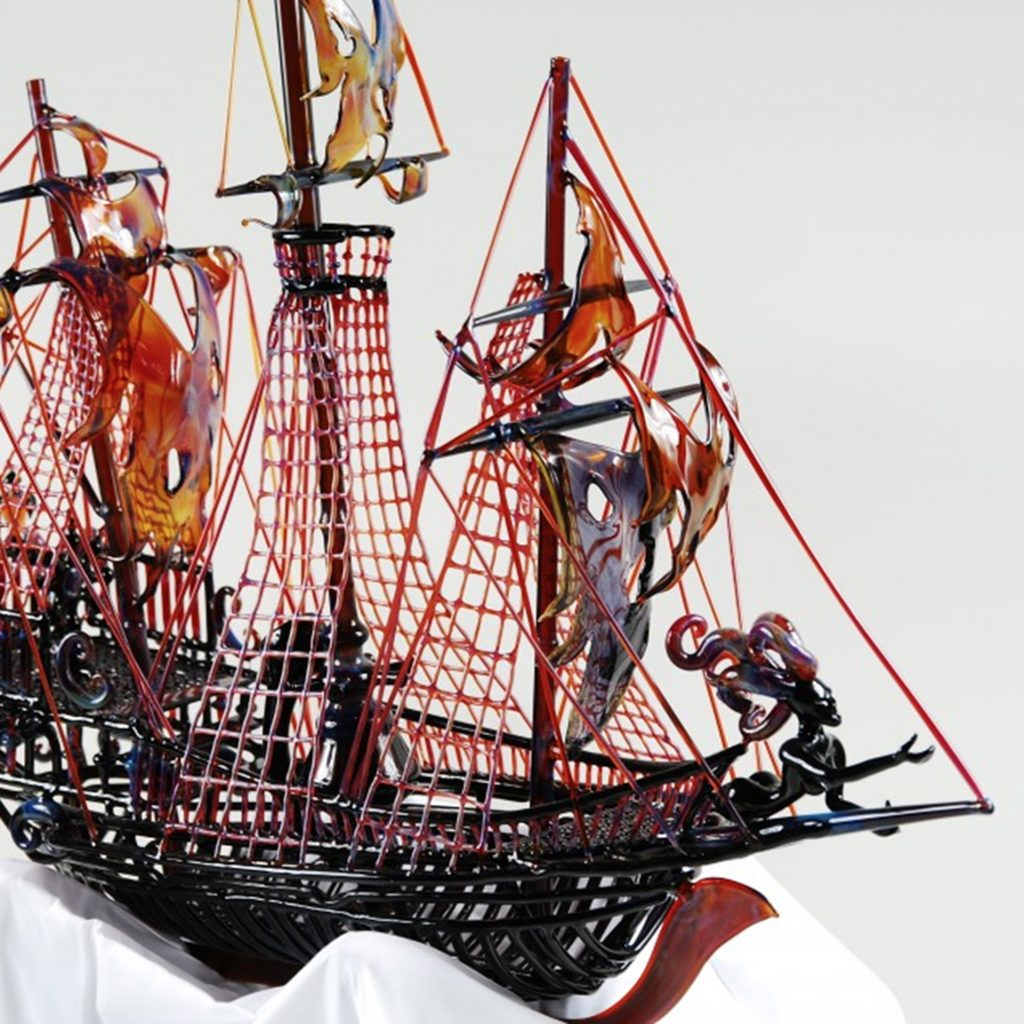 Cool, Expensive Bong #2: Illuzion Glass Pirate Ship Pipe