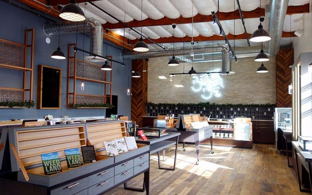 Bud & Bloom Beautiful Medical Marijuana Dispensary Design in Santa Ana California
