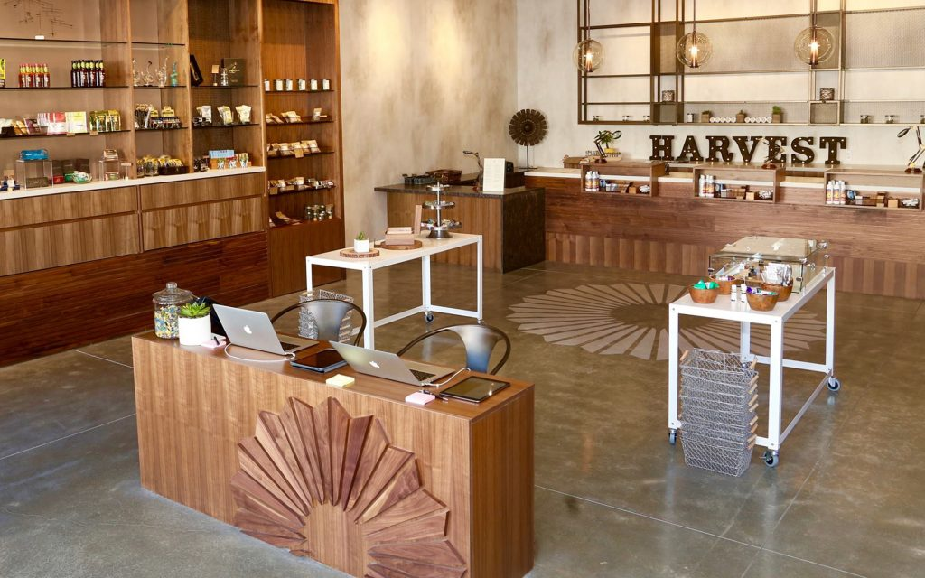 Harvest's Beautiful Medical Marijuana Dispensary Design in San Francisco California