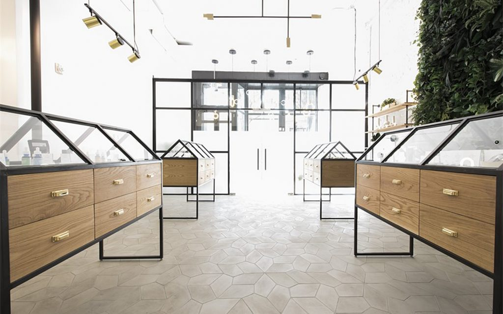 Serra's Beautiful Medical Marijuana Dispensary Design in Portland Oregon