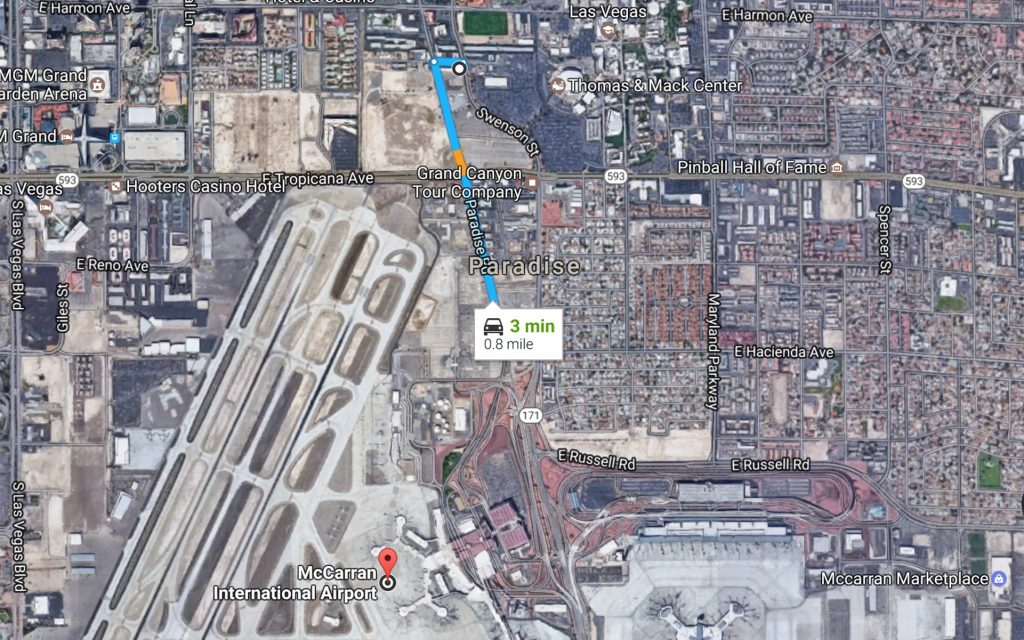 The Closest Marijuana Dispensary to the McCarran International Airport