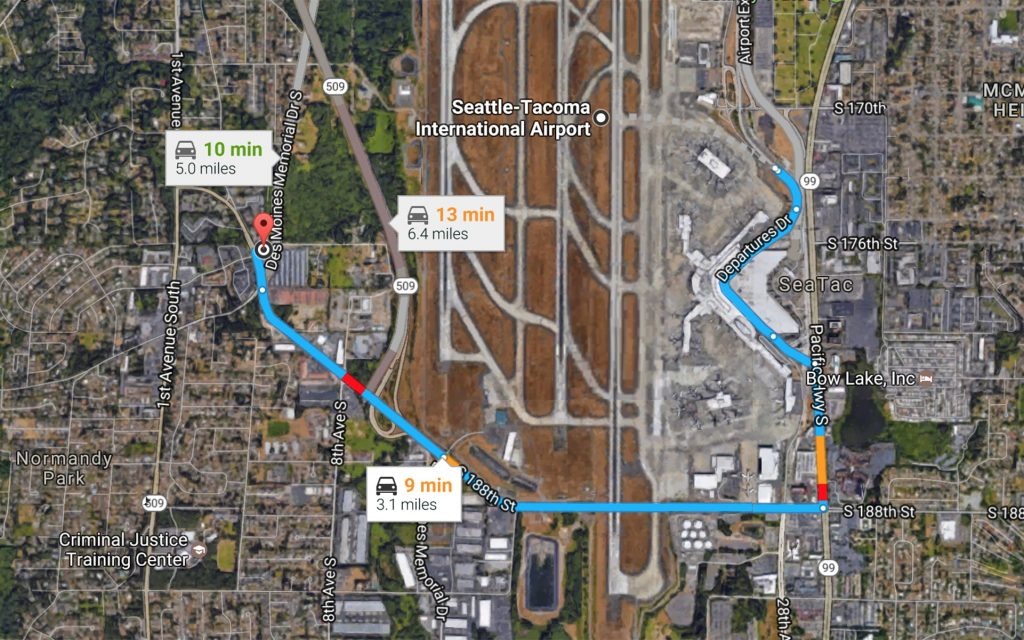 The Closest Marijuana Dispensary to the Seattle-Tacoma International Airport