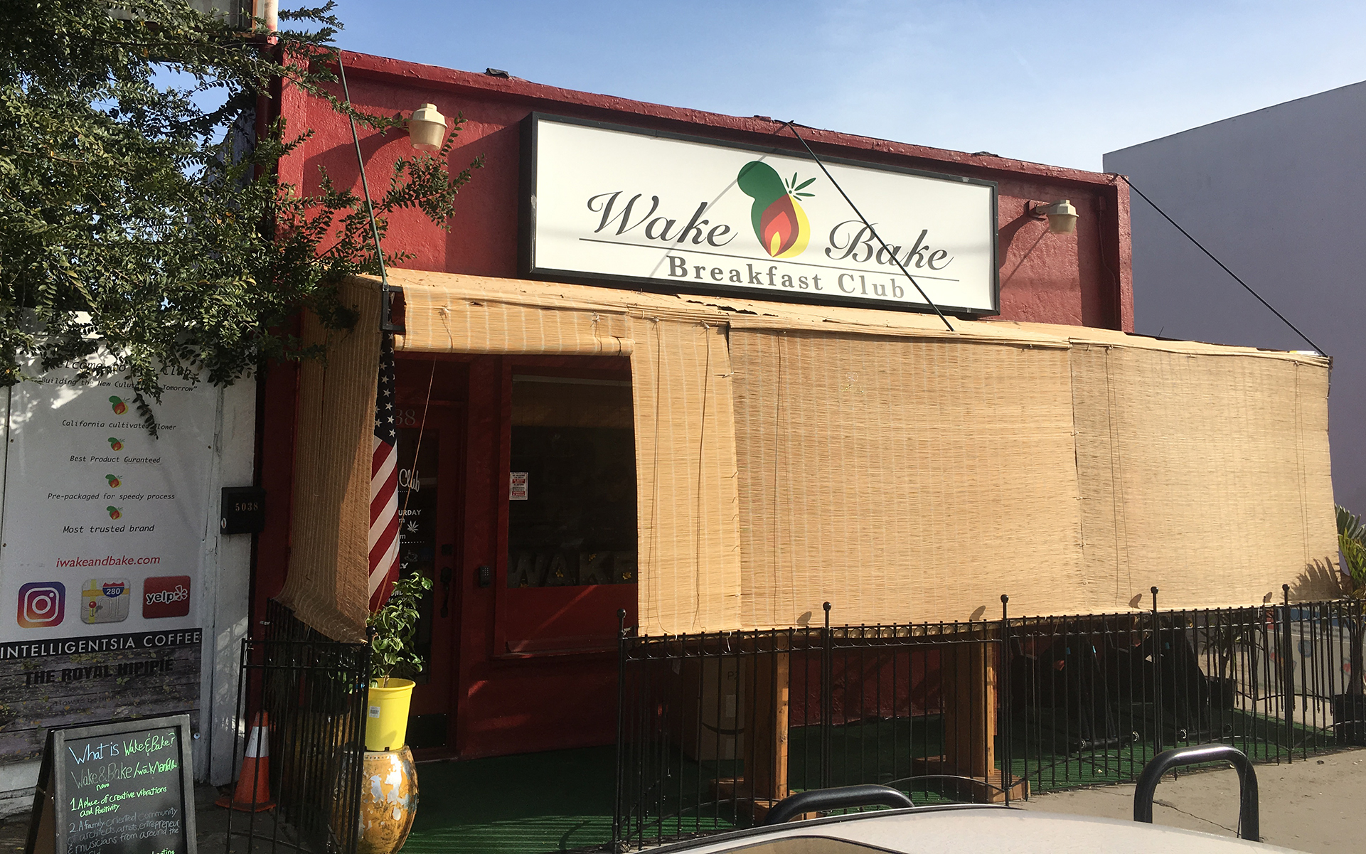 The Wake and Bake Club in Los Angeles, California