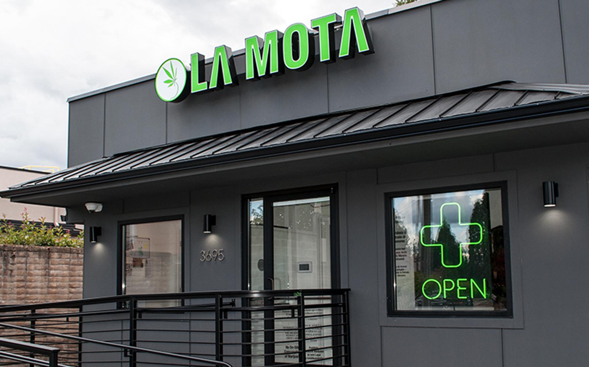 La Mota Beaverton Oregon Marijuana Dispensary — Leafly List Spring 2017