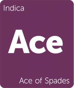 Leafly Ace of Spades indica cannabis strain