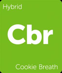 Leafly Cookie Breath hybrid cannabis strain
