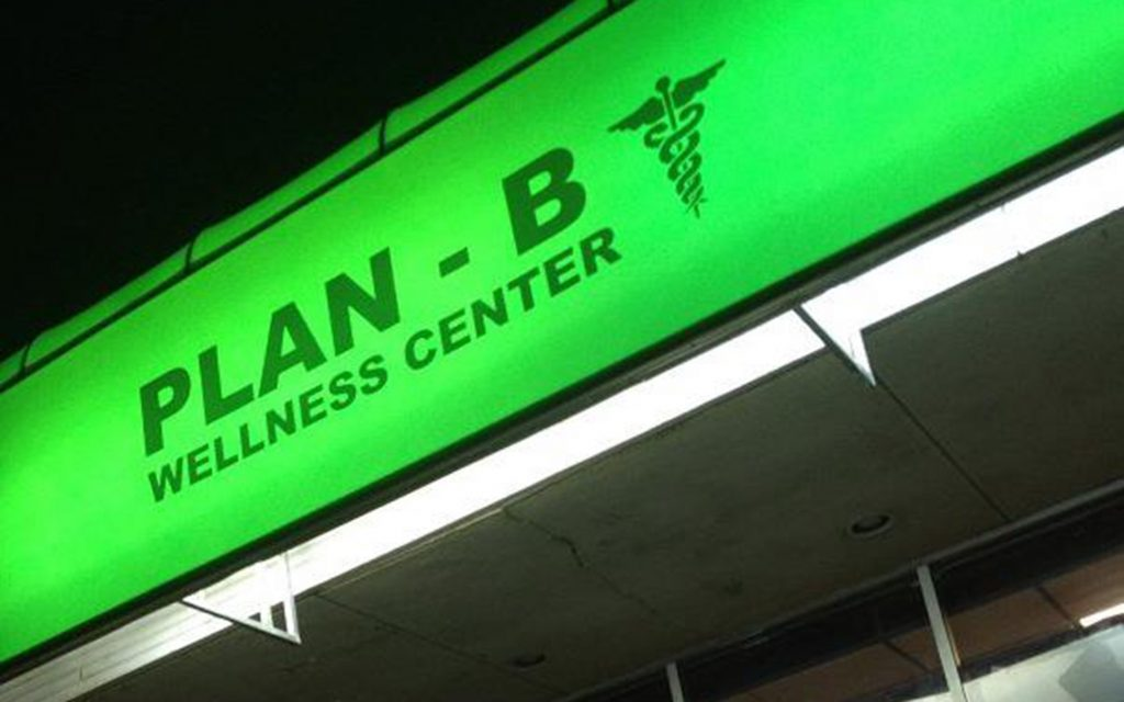 (Courtesy of Plan-B Wellness Center)