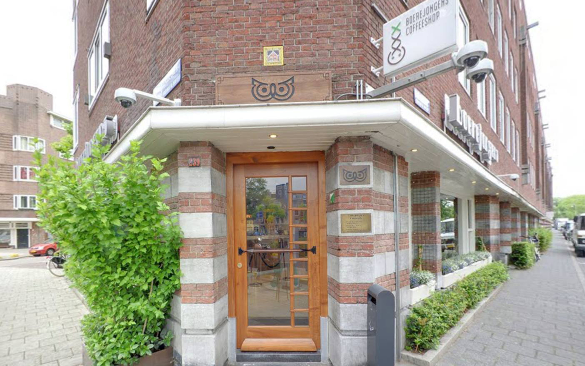 Amsterdam Cannabis Coffeeshop: Boerejongens