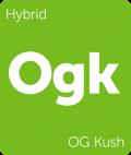 Leafly OG Kush hybrid cannabis strain