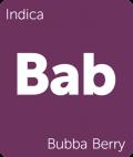 Bubba Berry Leafly cannabis strain tile