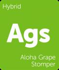 Aloha Grape Stomper Leafly cannabis strain tile