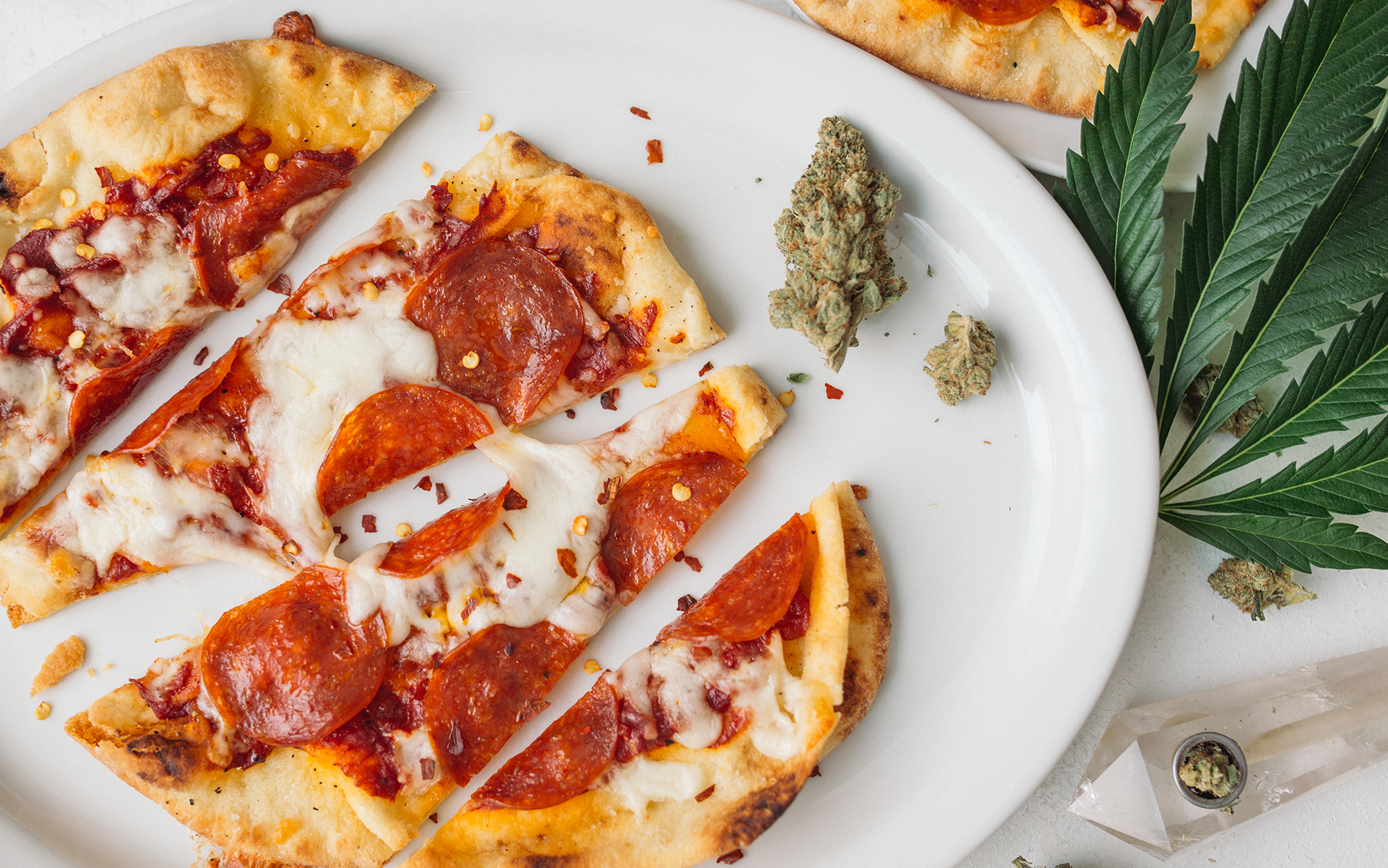 marijuana pizza