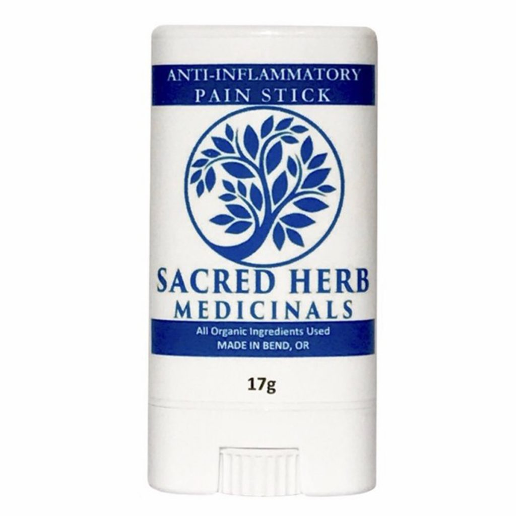 Best CBD Product in Oregon #6: CBD Anti-Inflammatory Pain Stick by Sacred Herb Medicinals