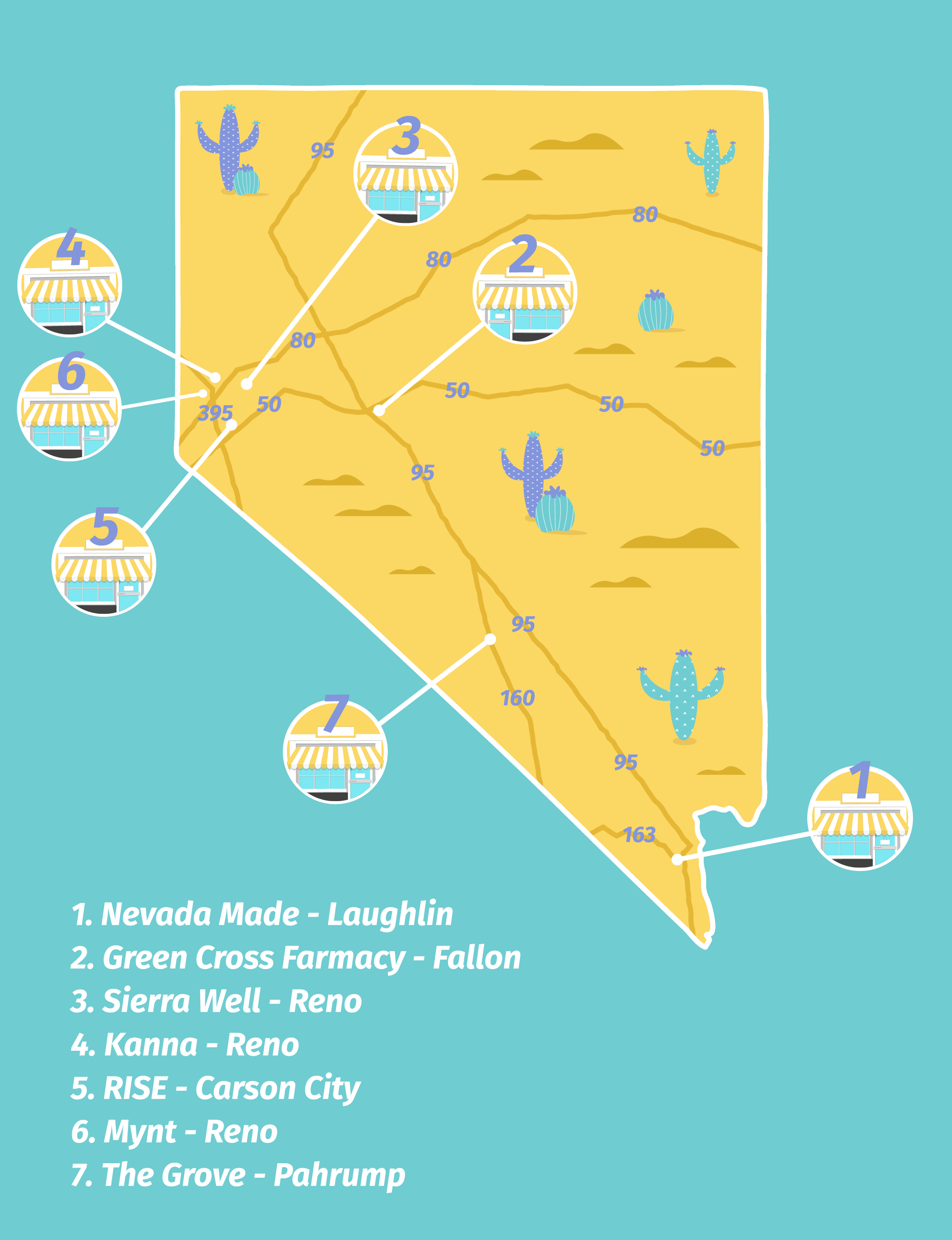 A Traveler S Guide To Cannabis In Nevada S Border Cities Leafly