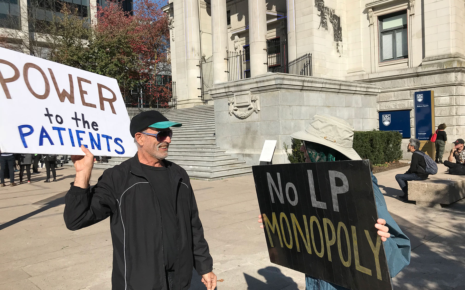 vancouver marijuana legalization protest