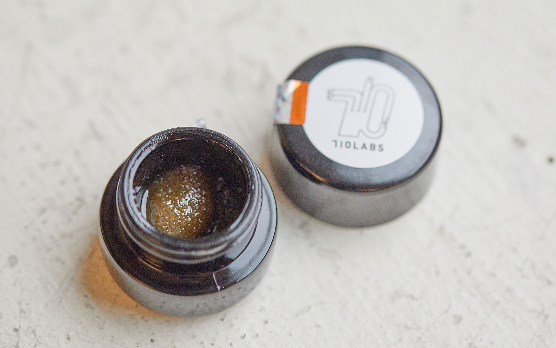 710 Labs sugar live resin hash cannabis concnetrate