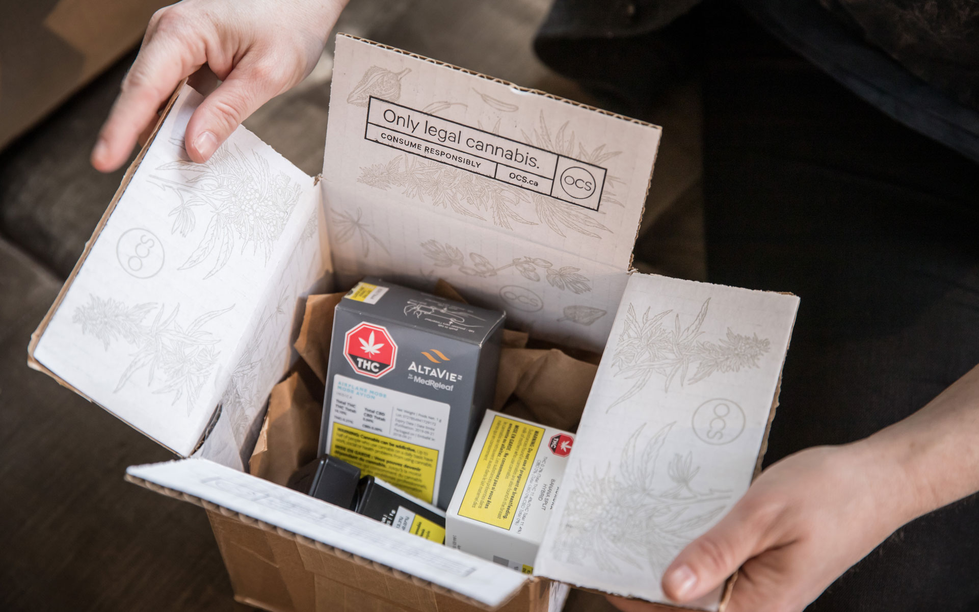 packaging deliver OCS Environmentally Friendly Canada