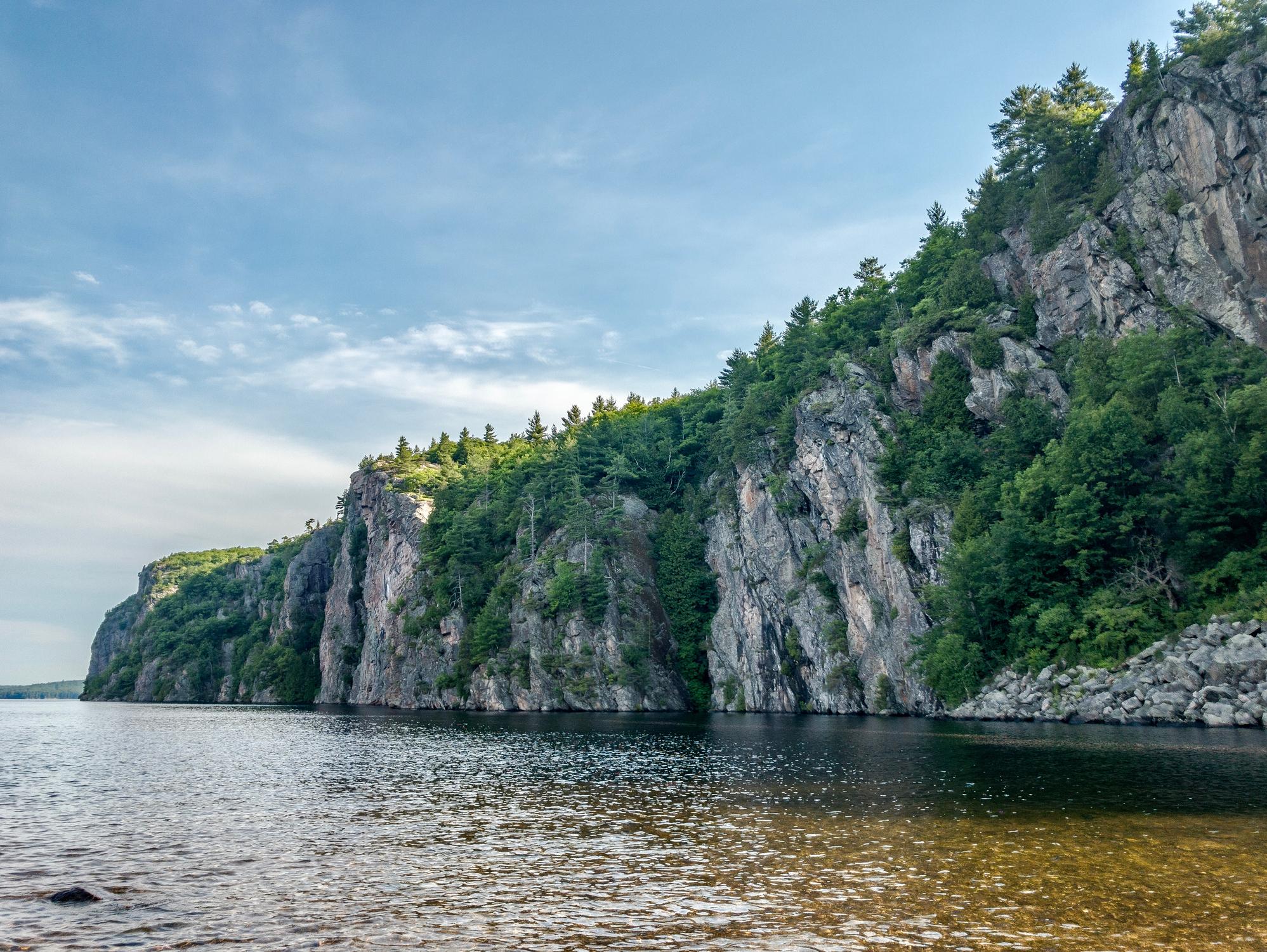 Mazinaw rock ontario water
