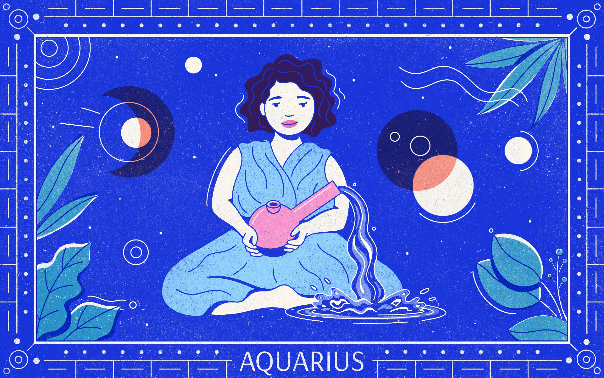 AQUARIUS web Gillian Levine - Star signs and cannabis strains: July 2020 horoscopes