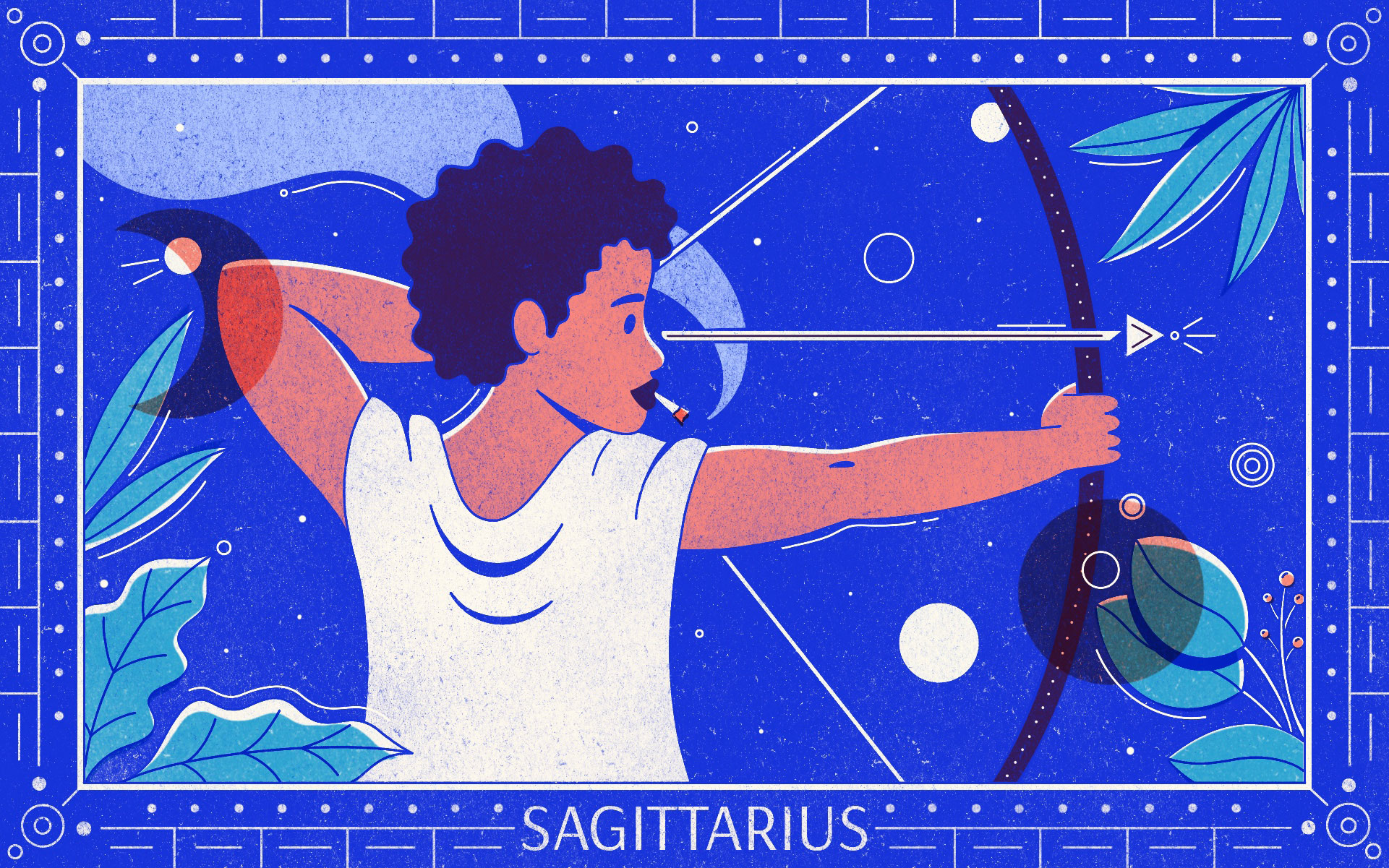 SAGITTARIUS web Gillian Levine - Star signs and cannabis strains: July 2020 horoscopes