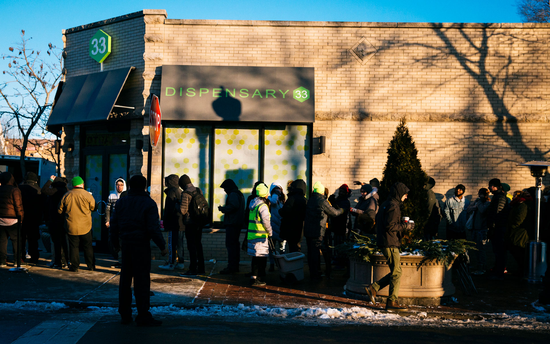 Illinois first day of recreational adult use cannabis sales on January 1, 2020