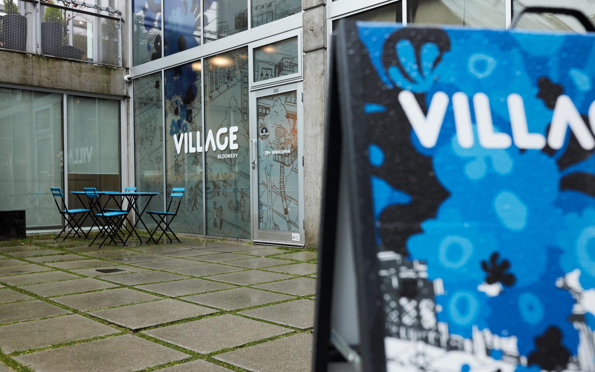 Village Bloomery exterior shot