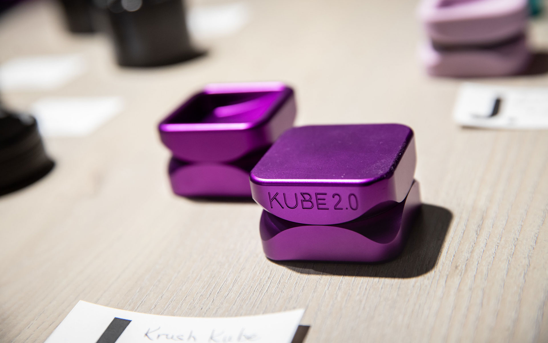 Krush grinders kube 2.0