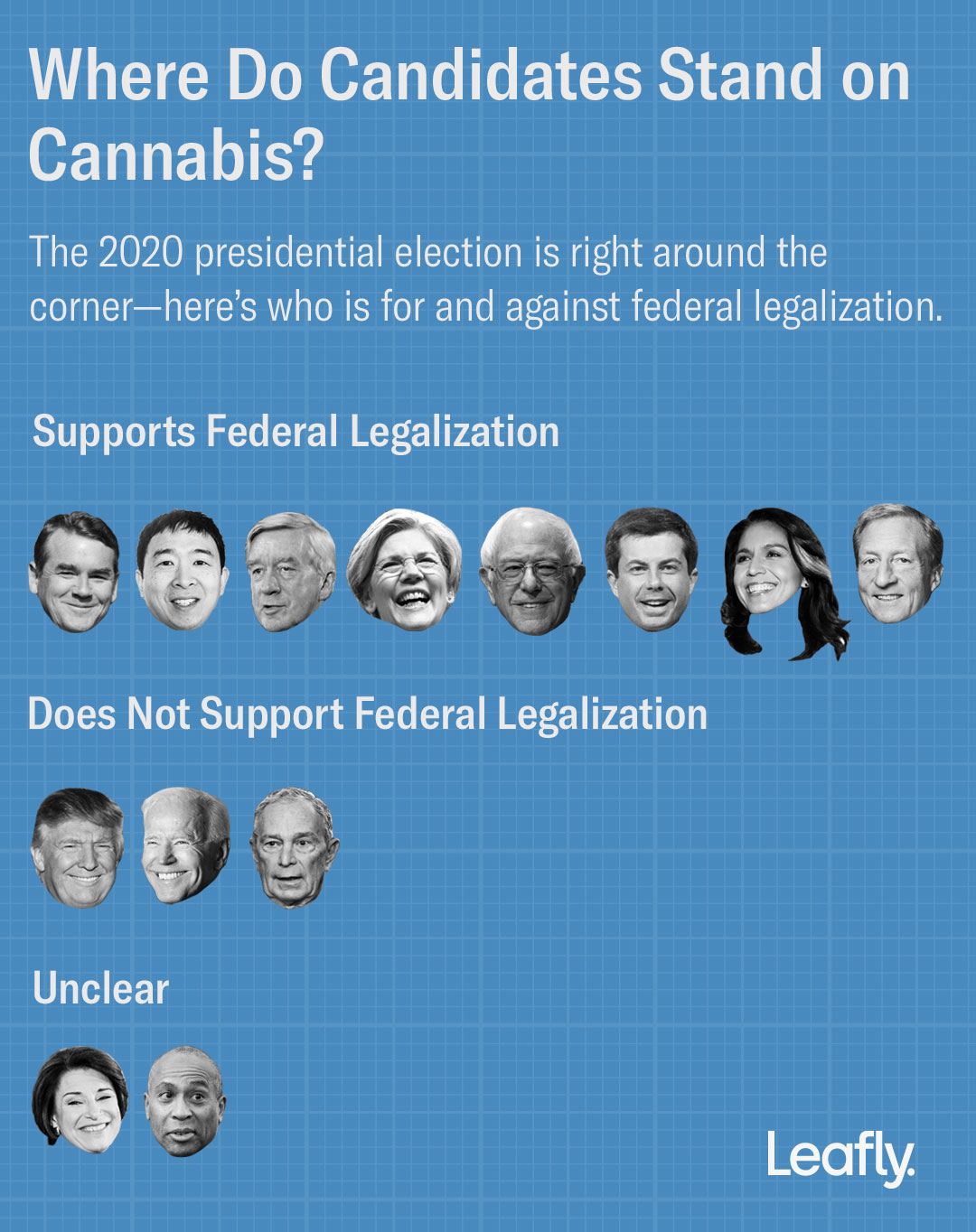 where do candidates stand on cannabis updated - Election 2020: All you need to know about cannabis legalization on the ballot
