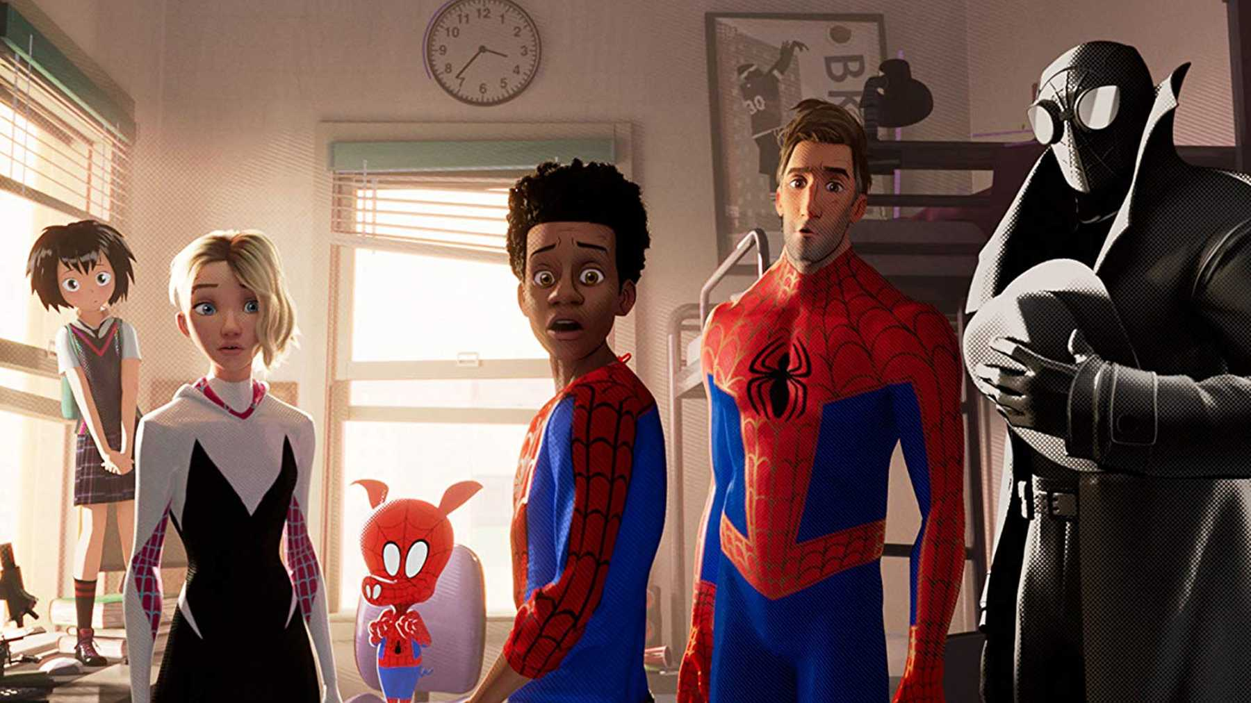 Characters of Into the Spiderverse