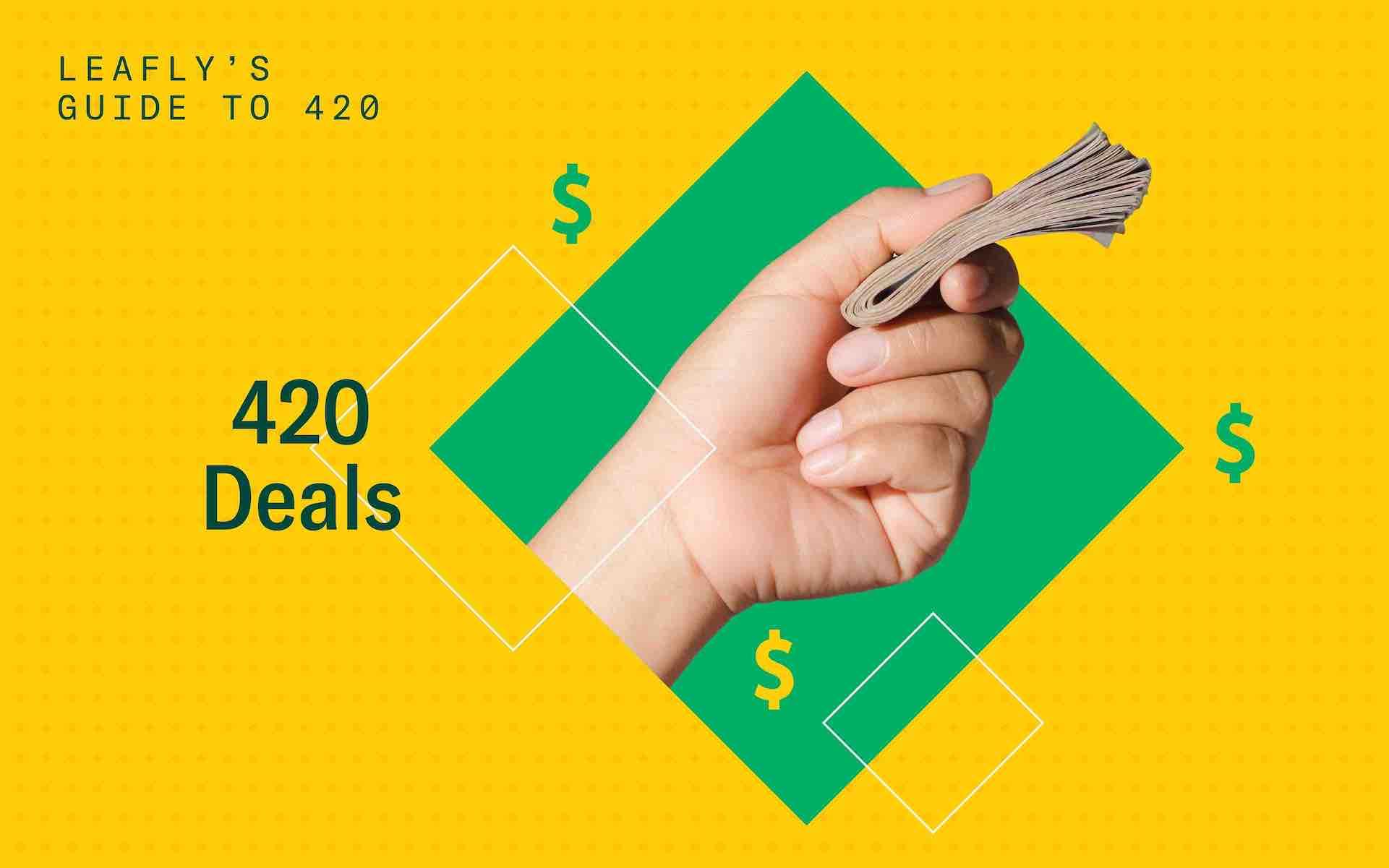 420 marijuana deals