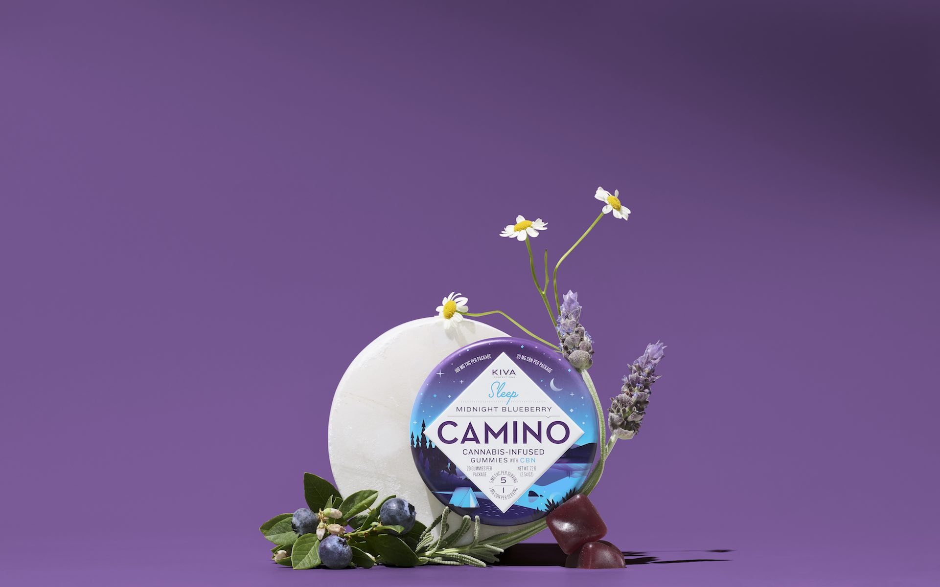 Kiva's Camino gummies are the hot Mother's Day item for California 2020. (Kiva)