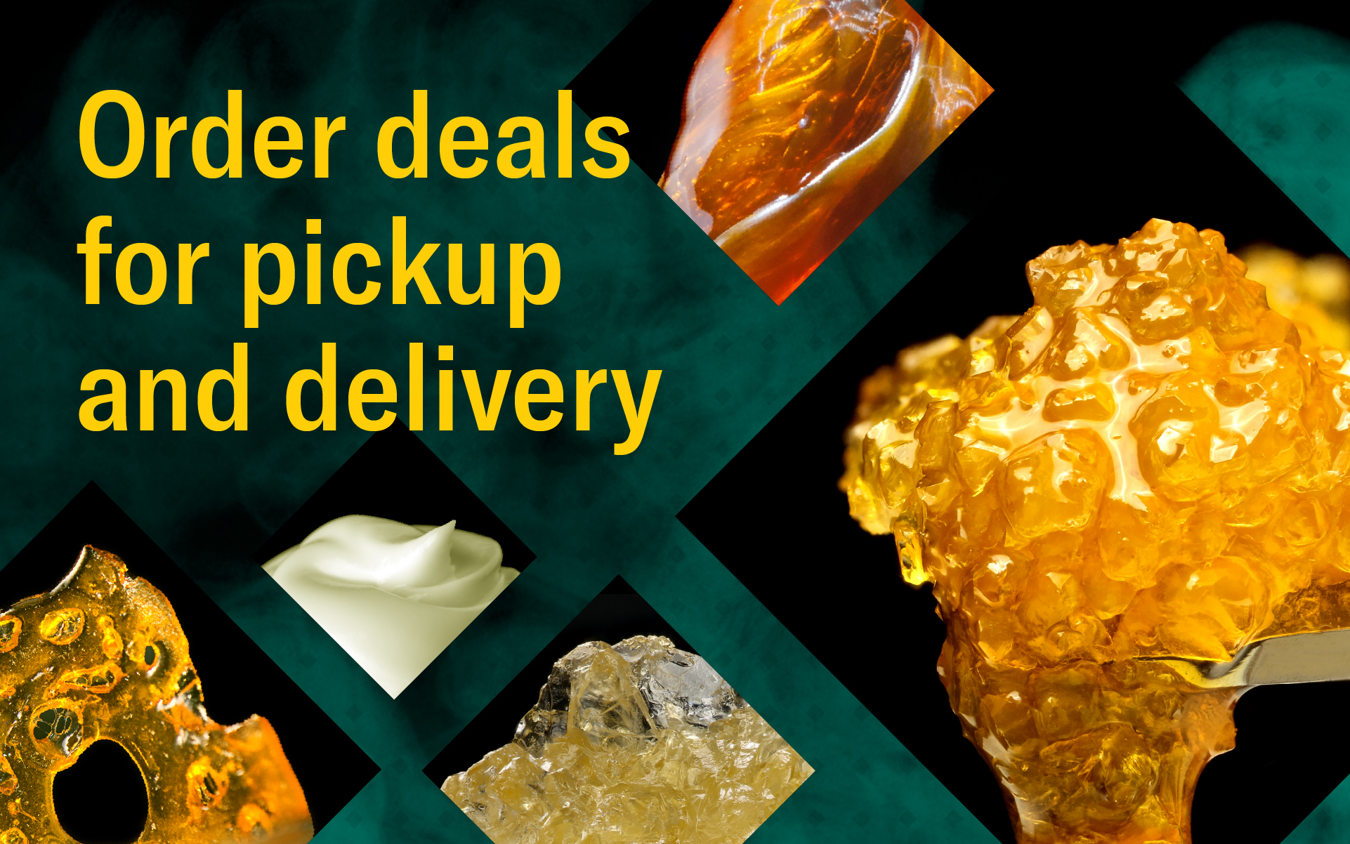 Order marijuana deals for pickup and delivery