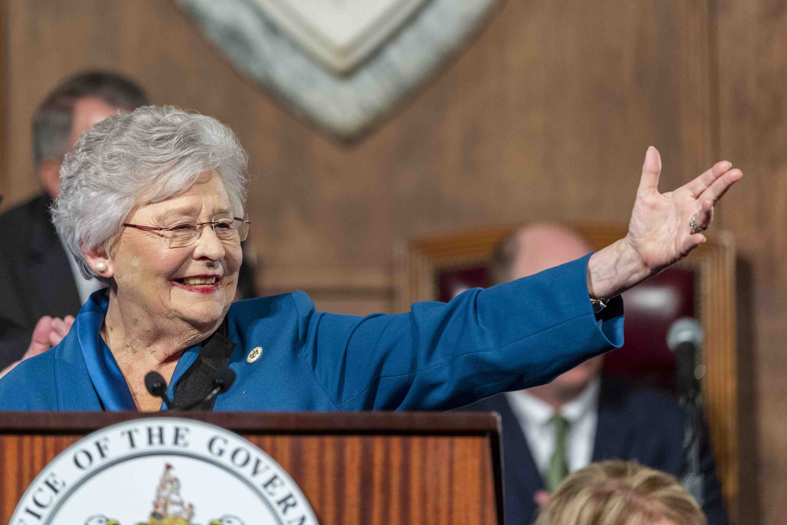 Kay Ivey AP Photo scaled - How medical marijuana and air guitar sent this 'Hurt Locker' hero to prison