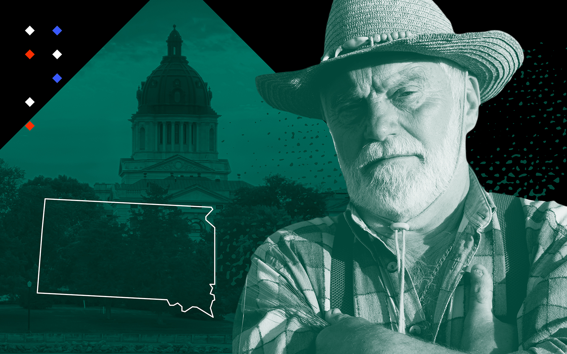 In South Dakota, voters have to shout twice to legalize marijuana
