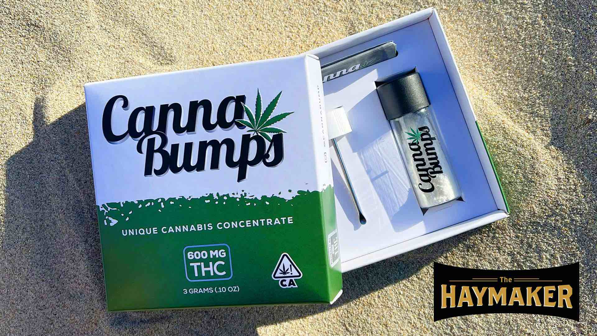 photo of Neat idea, Canna Bumps: Thanks for keeping marijuana illegal image